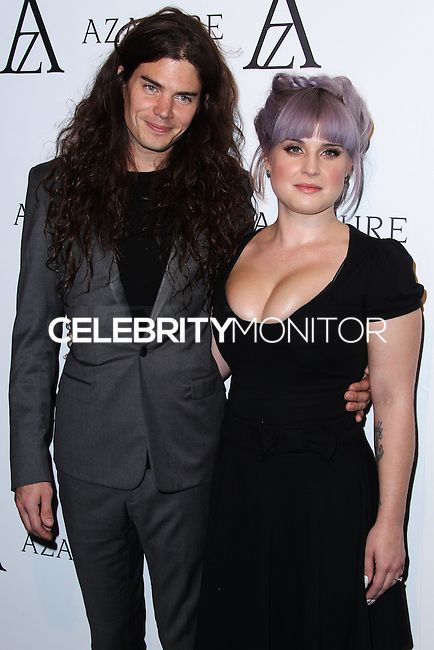 WEST HOLLYWOOD, CA - OCTOBER 08: Kelly Osbourne and her fiance Matthew Mosshart arrive at The Black Diamond Affair held at Sunset Tower Hotel on October 8, 2013 in West Hollywood, California. (Photo by Xavier Collin/Celebrity Monitor)