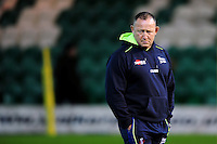 Sale Sharks Director of Rugby Steve Diamond. Aviva Premiership match, between Northampton Saints and Sale Sharks on December 23, 2016 at Franklin's Gardens in Northampton, England. Photo by: Patrick Khachfe / JMP