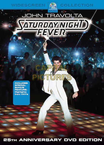 DVD COVER ART.in Saturday Night Fever.*Editorial Use Only*.Ref: FB.www.capitalpictures.com.sales@capitalpictures.com.Supplied by Capital Pictures.