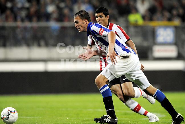 voetbal sc heerenveen - psv eredivisie seizoen 2010-2011 07-08-2010 bas dost