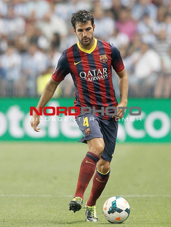 FC Barcelona's Cesc Fabregas during La Liga match.August 25,2013. Foto © nph / Acero)