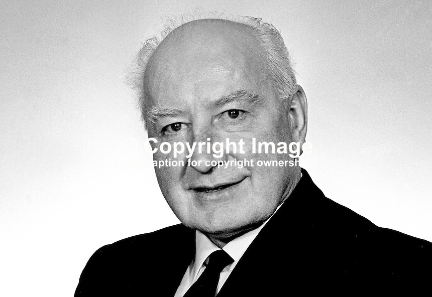 John Carron, MP, South Fermanagh, Nationalist Party, in N Ireland Parliament, Stormont, Belfast, March 1969, 19690300124<br />