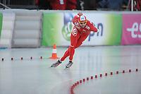 SCHAATSEN: BOEDAPEST: Essent ISU European Championships, 07-01-2012, 5000m Men, Konrad Niedzwiedzki POL, ©foto Martin de Jong