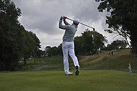 Jamie Donaldson (WAL) on the 4th tee during Round 4 of the D+D Real Czech Masters at the Albatross Golf Resort, Prague, Czech Rep. 03/09/2017<br /> Picture: Golffile   Thos Caffrey<br /> <br /> <br /> All photo usage must carry mandatory copyright credit     (&copy; Golffile   Thos Caffrey)