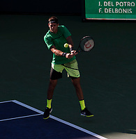 JUAN MARTIN DEL POTRO (ARG)<br /> <br /> BNP PARIBAS OPEN, INDIAN WELLS, TENNIS GARDEN, INDIAN WELLS, CALIFORNIA, USA<br /> <br /> &copy; TENNIS PHOTO NETWORK