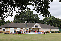 A view of the pavilion during Harold Wood CC vs Shenfield CC (batting), Essex Cricket League Cricket at Harold Wood Park on 25th July 2020