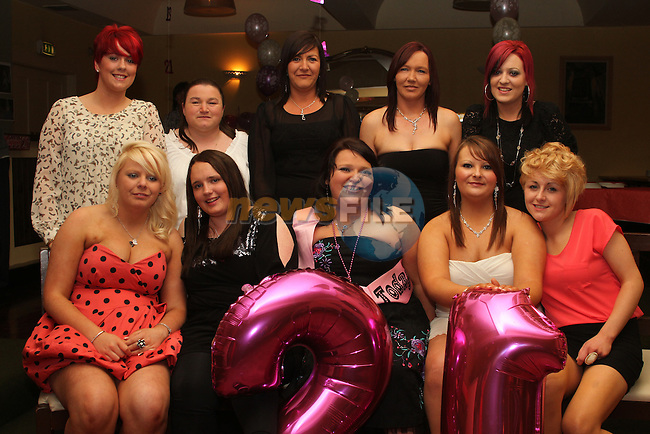 Orla Clarke's 21st in The Star and Crescent...(Photo credit should read Jenny Matthews www.newsfile.ie)....This Picture has been sent you under the conditions enclosed by:.Newsfile Ltd..The Studio,.Millmount Abbey,.Drogheda,.Co Meath..Ireland..Tel: +353(0)41-9871240.Fax: +353(0)41-9871260.GSM: +353(0)86-2500958.email: pictures@newsfile.ie.www.newsfile.ie.