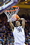 The University of Washington men's basketball team defeated Seattle Pacific University 77-60  at Alaska Airlines Arena at the University of Washington on Friday November 4, 2011. (Photography By Scott Eklund/Red Box Pictures)