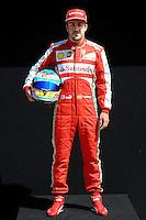 FERRARI SPANISH DRIVER FERNANDO ALONSO. .Melbourne 16/03/2013 .Formula 1 Gp Australia.Foto Insidefoto.ITALY ONLY .Posato Ritratto Pilota