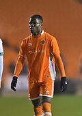 04/12/2018 FA Youth Cup 3rd Round Blackpool v Derby County<br /> <br /> Andy Kanga