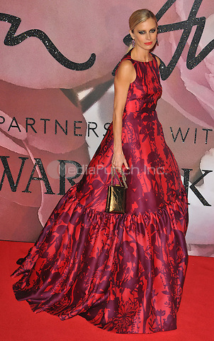 Laura Bailey at the Fashion Awards 2016, Royal Albert Hall, Kensington Gore, London, England, UK, on Monday 05 December 2016. <br /> CAP/CAN<br /> &copy;CAN/Capital Pictures /MediaPunch ***NORTH AND SOUTH AMERICAS ONLY***