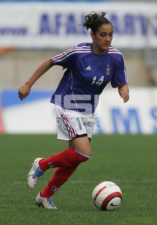 MAR 15, 2006: Faro, Portugal:  Louisa Necib