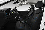 Front seat view of 2017 Hyundai Ioniq-Hybrid Executive 5 Door Hatchback Front Seat  car photos