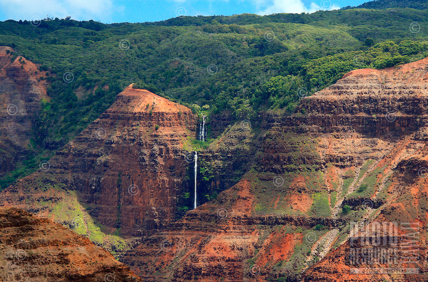 "Waimea Canyon,""The Grand Canyon of the Pacific"" on Kauai's west side, Hawaii."