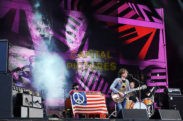 LONDON, ENGLAND - SEPTEMBER 14:  Ryan Adams performing at The Jaguar Land Rover Invictus Games Closing Concert at Queen Elizabeth Olympic Park on September 14, 2014 in London, England.<br /> CAP/MAR<br /> &copy; Martin Harris/Capital Pictures