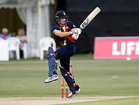 Joe Denly bats for Kent during the Vitality Blast T20 game between Kent Spitfires and Sussex Sharks at the St Lawrence Ground, Canterbury, on Fri July 27, 2018