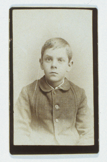 Title: Joseph Crone as Young Child<br />