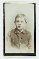 Title: Joseph Crone as Young Child<br /> Type: Photo<br /> Cat #: 001a.(right)<br /> File Name: Joseph_Edward_Crone_as_young_child<br /> Image checked: yes<br /> Formats: original object, slide, c tif