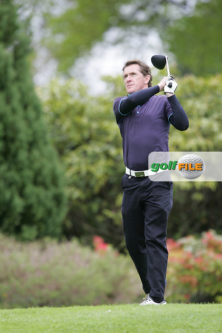 A P McCoy during Wednesday's Pro-Am ahead of the 2016 Dubai Duty Free Irish Open Hosted by The Rory Foundation which is played at the K Club Golf Resort, Straffan, Co. Kildare, Ireland. 18/05/2016. Picture Golffile | TJ Caffrey.<br />