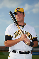 Bradenton Marauders first baseman Will Craig (22) poses for a photo before a game against the Clearwater Threshers on April 18, 2017 at LECOM Park in Bradenton, Florida.  Clearwater defeated Bradenton 4-2.  (Mike Janes/Four Seam Images)