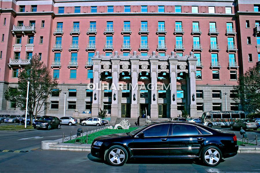 Prédio na cidade de Pequim. China. 2007. Foto de Flávio Bacellar.