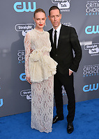 Kate Bosworth &amp; Michael Polish at the 23rd Annual Critics' Choice Awards at Barker Hangar, Santa Monica, USA 11 Jan. 2018<br /> Picture: Paul Smith/Featureflash/SilverHub 0208 004 5359 sales@silverhubmedia.com