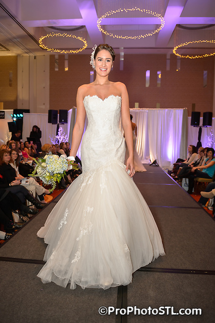 Unveiled 2013 bridal fashion show presented by St. Louis Magazine at Four Seasons Hotel in St. Louis, MO on Jan 27, 2013.