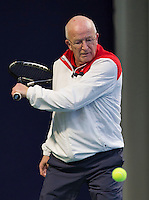 Hilversum, The Netherlands, March 12, 2016,  Tulip Tennis Center, NOVK, Bert Bos  (NED)<br /> Photo: Tennisimages/Henk Koster