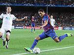 UEFA Champions League, Spain, Camp Nou, FC Barcelona v Viktoria Plzen. Picture show Maxwell
