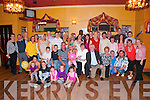&nbsp;Jim Walsh of Hawley Park, Tralee, celebrated his 60th Birthday in the John Mitchel's Clubhouse on Saturday night last. Jim is pictured here seated 4th from left in the second row. Jim partied the night away with family and friends.&nbsp;<br />