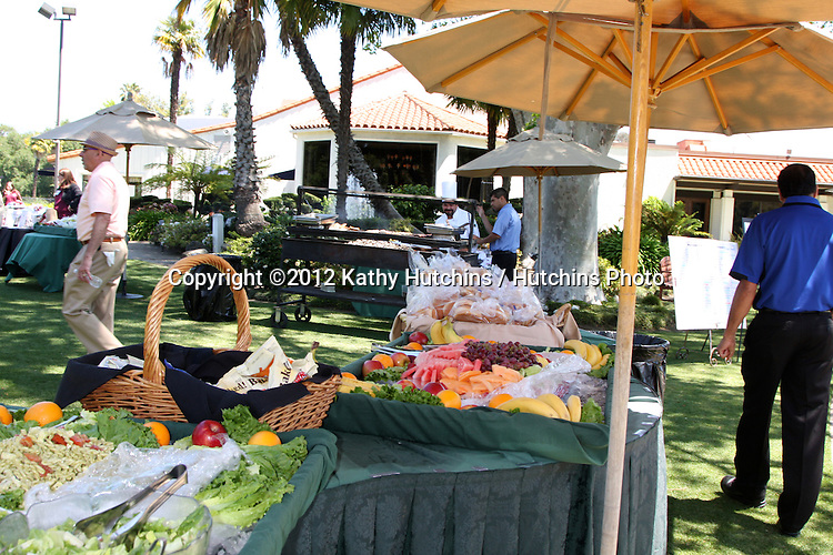 LOS ANGELES - APR 16:  Lunch Buffet at the The Leukemia & Lymphoma Society Jack Wagner Golf Tournament at Lakeside Golf Course on April 16, 2012 in Toluca Lake, CA