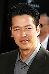 "Actor Russell Wong arrives at the American Premiere of ""The Mummy: Tomb Of The Dragon Emperor at the Gibson Amphitheatre on July 27, 2008 in Universal City, California."