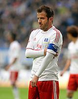 FUSSBALL   1. BUNDESLIGA   SAISON 2012/2013    31. SPIELTAG FC Schalke 04 - Hamburger SV          28.04.2013 Rafael van der Vaart (Hamburger SV) enttaeuscht