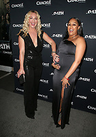 CULVER CITY, CA - MARCH 7: Elisabeth Rohm, Tia Mowry, pictured at Crackle's The Oath Premiere at Sony Pictures Studios in Culver City, California on March 7, 2018. <br /> CAP/MPIFS<br /> &copy;MPIFS/Capital Pictures