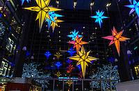 America,New York,  Manhattan,Christmasdecorations