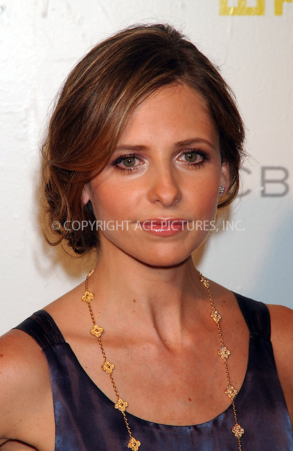 WWW.ACEPIXS.COM . . . . . ....June 6 2007, New York City....Actress Sarah Michelle Gellar arriving at the fifth annual Whitney Contemporaries Art Party and Auction to benefit the Whitney Museum of American Art's Independent Study Program at Skylight Studio in midtown Manhattan.....Please byline: KRISTIN CALLAHAN - ACEPIXS.COM.. . . . . . ..Ace Pictures, Inc:  ..(646) 769 0430..e-mail: info@acepixs.com..web: http://www.acepixs.com