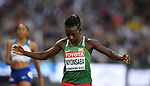 Francine NIYONSABA (BDI) in the womens 800m semi-final. IAAF world athletics championships. London Olympic stadium. Queen Elizabeth Olympic park. Stratford. London. UK. 11/08/2017. ~ MANDATORY CREDIT Garry Bowden/SIPPA - NO UNAUTHORISED USE - +44 7837 394578
