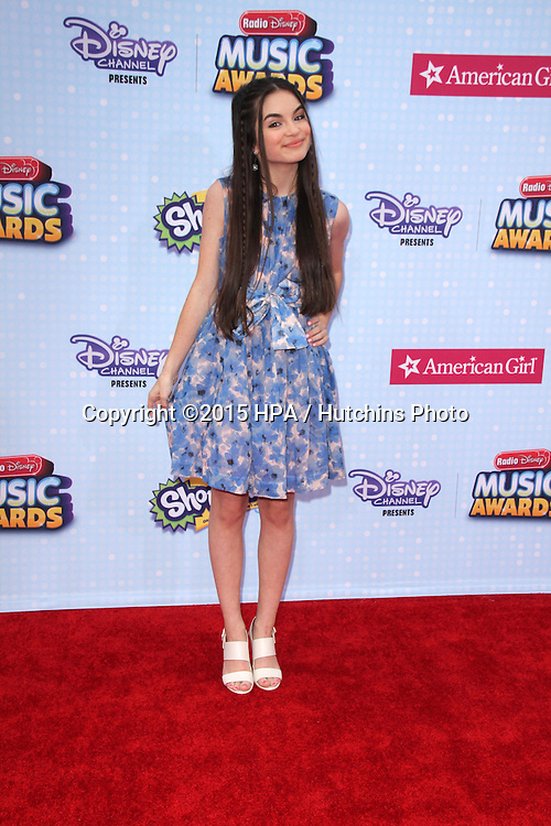 LOS ANGELES - FEB 25:  Landry Bender at the Radio DIsney Music Awards 2015 at the Nokia Theater on April 25, 2015 in Los Angeles, CA
