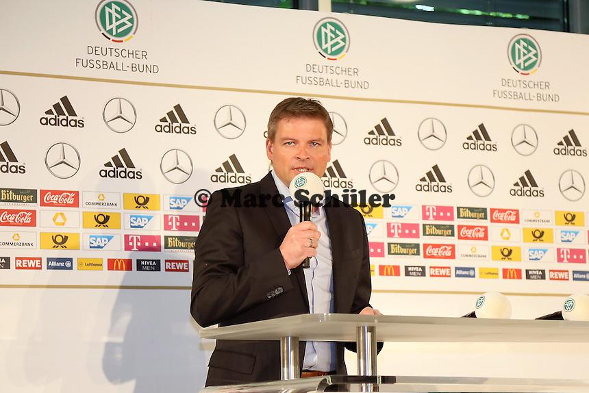 DFB Mediendirektor Jens Grittner - DFB Kadernominierung für die WM 2014