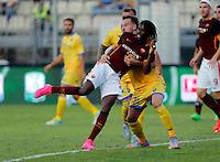 Gervinho  durante l'incontro di calcio di Serie A   Frosinone - Roma   allo  Stadio Matusa di   di Frosinone ,12  Settembre 2015