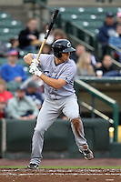 Columbus Clippers second baseman Cord Phelps #12 during the first game of a double header against the Empire State Yankees at Frontier Field on May 8, 2012 in Rochester, New York.  Columbus defeated Empire State 1-0.  (Mike Janes/Four Seam Images)