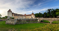 France, Côte-d'Or (21), Époisses, le château d'Époisse // France, Cote d'Or, Epoisse, Epoisse castle