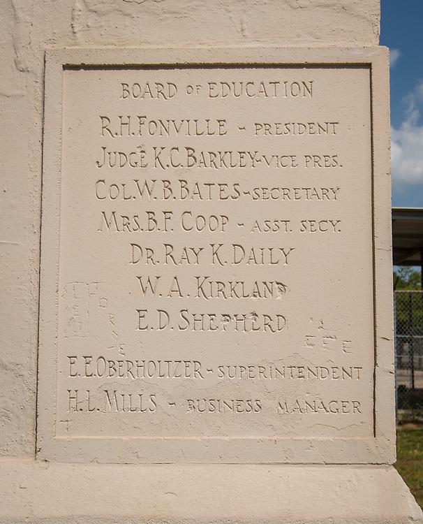 Original Wheatley / E.O. Smith High School, August 22, 2014.