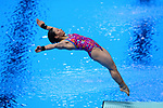Minami Itahashi (JPN), <br /> AUGUST 31, 2018 - Diving : <br /> Women's 1m Springboard Final <br /> at Gelora Bung Karno Aquatic Center <br /> during the 2018 Jakarta Palembang Asian Games <br /> in Jakarta, Indonesia. <br /> (Photo by Naoki Nishimura/AFLO SPORT)