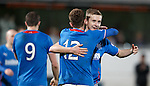 Robbie Crawford wraps it up for Rangers with goal no 4