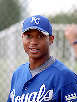 Patrick White - Kansas City Royals - 2010 Instructional League.Photo by:  Bill Mitchell/Four Seam Images..