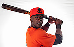 Roger Bernadina of Team Netherlands poses during WBC Photo Day at the Taichung International Baseball Stadium on February 26, 2013 in Taichung, Taiwan. Photo by Victor Fraile / The Power of Sport Images