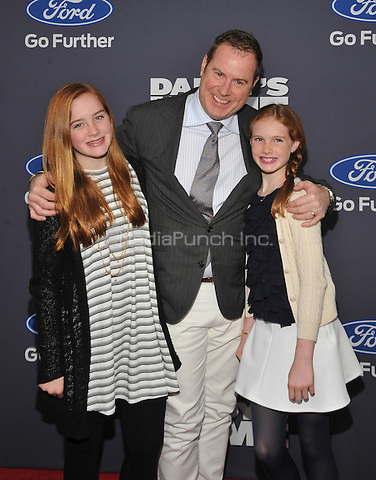 New York,NY- December 13: Rowan Henchy, Chris Henchy,  Girer Henchy attend the 'Daddy's Home' New York premiere at AMC Lincoln Square Theater on December 13, 2015 in New York City. Credit: John Palmer/MediaPunch