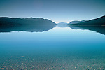 Glacial Lake McDonald, Glacier National Park, Montana.