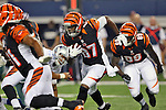 Cincinnati Bengals wide receiver Cobi Hamilton (87) in action during the pre-season game between the Cincinnati Bengals and the Dallas Cowboys at the AT & T stadium in Arlington, Texas. Dallas defeats Cincinnati 24 to 18.